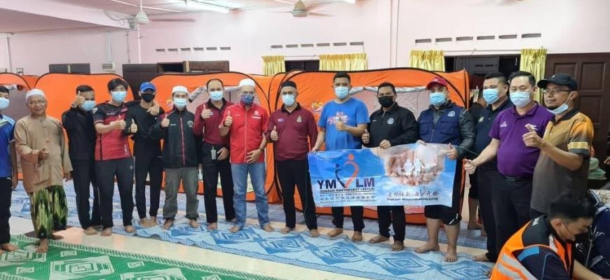 emergency assistance for flood victims occurred in the nine temporary councils of TEBRAU